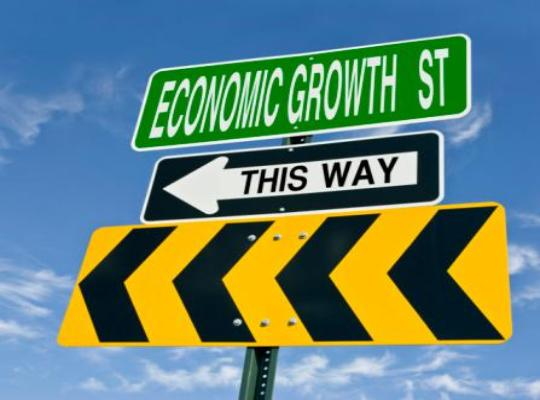 Growth arrow signs