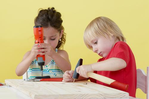 Gender roles in childhood